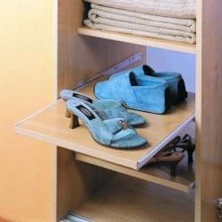 Ištraukiamos lentynos batams
