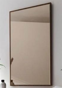 Bronzinis veidrodis stumdomoms durims
