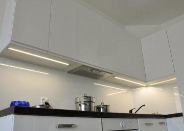 LED apšvietimas virtuvėje