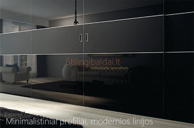 Minimalistiniai durų profiliai