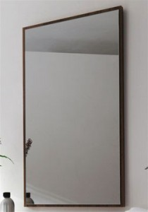Pilkas veidrodis stumdomoms durims