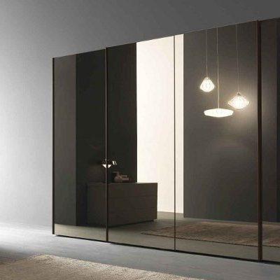 Spintos Slider su tamsintu veidrodžiu