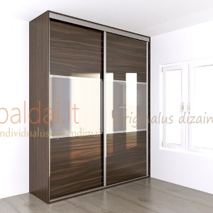 Stumdomos durys. Matinis stiklas 8
