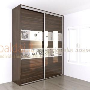 Stumdomos durys. Plokste ir stiklas su nuotrauka 6
