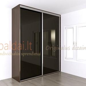 Stumdomos durys. Stiklas 1