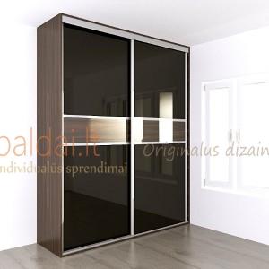 Stumdomos durys. Stiklas 10