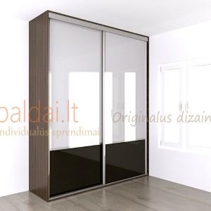 Stumdomos durys. Stiklas 15